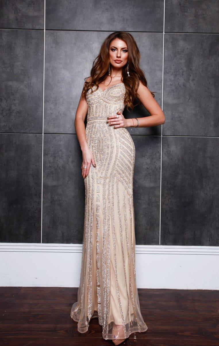 db0f93a16fcdf Вечернее платье Hot Couture 30985 купить в Киеве - салон Dress Me