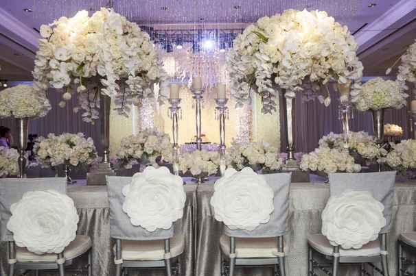 Украшаем свадебный зал