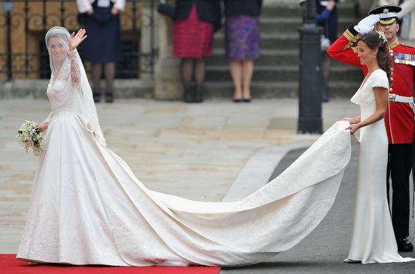 Королевское платье для королевской свадьбы!