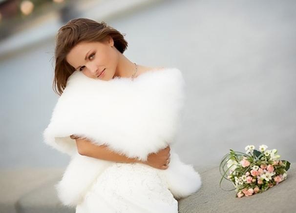 Свадебная накидка и болеро